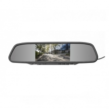 Mp5 Handsfree Огледало с 4.3 инча вграден  монитор USB, Micro SD - АТ BTM-4301A