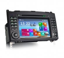 Мултимедия двон дин за Mercedes W169 W245, SPRINTER, CRAFTER ES7170B GPS, 7 инча
