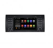 Вградена навигация двоен дин за BMW X5 E53 с Android 7.1 BM0701 , GPS, DVD, 7 инча