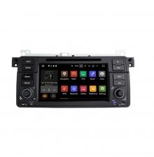 Вградена навигация двоен дин за BMW E46 с Android 9.0 BM0702A9 , GPS, DVD, 7 инча