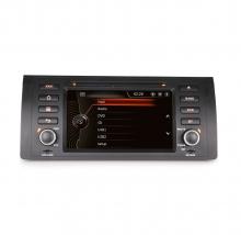 Навигация двоен дин за BMW Е53 BM0701W GPS, DVD, WinCE, 7 инча