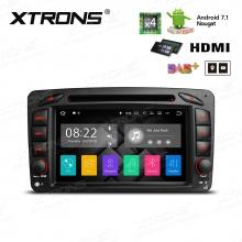 Навигация за Mercedes W203 W209 W463 с ANDROID 7.1 PA77M203P, WiFi, GPS, DVD, 7 инча