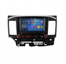 Навигация двоен дин за Mitsubishi Lancer (07-12) N MS01A с Android GPS, DVD, 7 инча