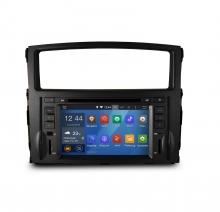 Навигация двоен дин за Mitsubishi Pajero (06-12) N MS03A с Android GPS, DVD, 7 инча