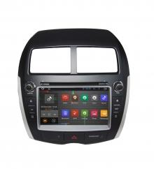 Навигация двоен дин за Mitsubishi ASX (10-11) N MS05A с Android GPS, DVD, 7 инча