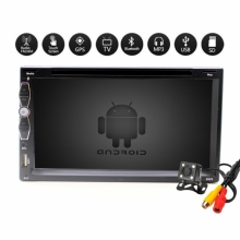 Универсална навигация двоен дин с Android 6925, GPS, DVD, WiFi, 7 инча + ТЕЛЕВИЗИЯ