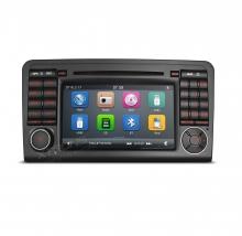 Навигация двоен дин за Mercedes W164 с Windows 6.0 BZ0705W, GPS, WiFi, 7 инча
