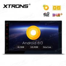 Универсална навигация двоен дин с Android 8.0 TE706PL, GPS, WiFi, DVD, 7 инча