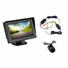 4.3 инча монитор + БЕЗЖИЧНА камера за задно виждане AT BW-430-940