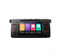 Навигация двоен дин за BMW E46 с Android 8.0, MKD-B746, WiFi, GPS, 7 инча