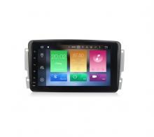 Навигация двоен дин за Mercedes W209 W203 W463 с Android 8.0, MKD-M809, WiFi, GPS, 8 инча