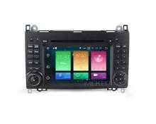Навигация двоен дин за Mercedes W169 W245 Sprinter Vito с Android 8.0, MKD-M700, WiFi, GPS, 7 инча