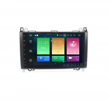 Навигация двоен дин за Mercedes W169 W245 Sprinter Vito с Android 8.0, MKD-M900, WiFi, GPS, 9 инча