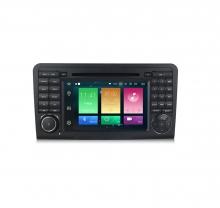 Навигация двоен дин за Mercedes W164 X164 с Android 8.0, MKD-M702, WiFi, GPS, 7 инча