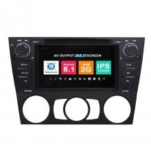 Навигация двоен дин BMW E90 E91 E92 E93 E81 с Android 8.1 BM0703A81, GPS, WiFi, DVD, 7 инча