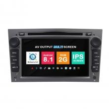 Навигация двоен дин Opel Astra Vectra Meriva с Android 8.1 OP0702A81, GPS, WiFi, DVD, 7 инча