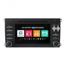 Навигация двоен дин Porsche Cayenne с Android 8.1 PO0701A81, GPS, WiFi, DVD, 7 инча