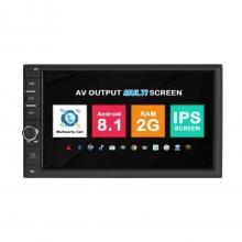 Универсална навигация двоен дин с Android 8.1 UN0705A81, GPS, WiFi, DVD, 7 инча