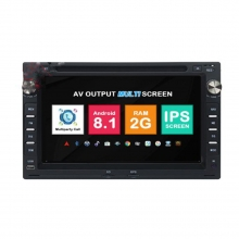 Навигация двоен дин VW GOLF PASSAT SHARAN с Android 8.1 VW0701A81, GPS, WiFi, DVD, 7 инча