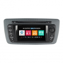 Навигация двоен дин Seat Ibiza с Android 8.1 VW6212A81, GPS, WiFi, DVD, 7 инча