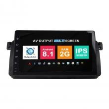 Навигация двоен дин BMW E46 M3 Rover с Android 8.1 BM0922A81, GPS, WiFi, DVD, 9 инча