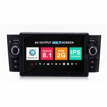Навигация двоен дин Fiat Grande Punto, Linea с Android 8.1 FT0705A81, GPS, WiFi, DVD, 7 инча