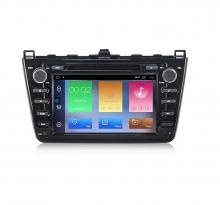 Навигация двоен дин за Mazda 6 (08-12) с Android 9.0 MA4000H GPS, WiFi, 8 инча
