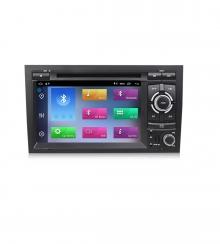 Мултимедийна навигация  за AUDI A4(02-08) с Android 10 A4471H GPS, WiFi,DVD  7инча