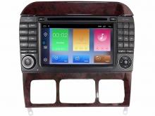 Мултимедийна навигация за MERCEDES S-CLASS W220, CL W215   с  Android 9.0  7912H  GPS, DVD,WIFI 7 ин