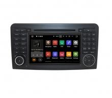 Вградена навигация двоен дин за Mercedes W164 с Android 9.0 BZ0705A9 , GPS, DVD, 7 инча