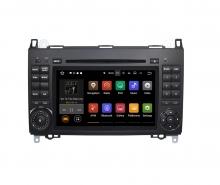 Вградена навигация за Mercedes W164 W245 с Android 9.0 BZ0703A9 , GPS, DVD, 7 инча