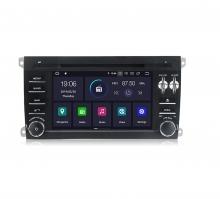 Двоен дин навигация за PORSCHE CAYENNE (02-09) с Android 9 P4000H GPS, WiFi,DVD, 7 инча