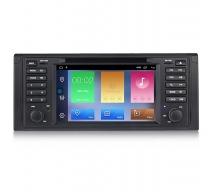 Мултимедийна навигация за BMW E39 (95-04) с Android 10 BM7530H GPS, WiFi, DVD 7 инча