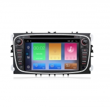 Двоен дин за FORD Focus, C-Max,Galaxy  с Android 10 F4400H GPS, WiFi, DVD, 7 инча