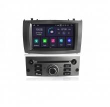 Мултимедийна навигация за PEUGEOT 407 (03-10) с Android 9.0 PE8590H GPS, WiFi, DVD, 7 инча