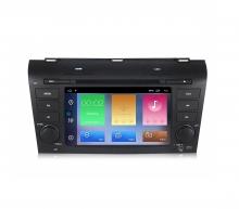 Двоен дин навигация за Mazda 3 (04-09) с Android 10 MA4001H GPS, WiFi,DVD, 7 инча