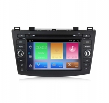 Мултимедийна навигация за Mazda 3 (09-12) с Android 10 MA8200H GPS, WiFi,DVD, 8 инча