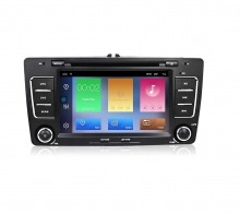 Двоен дин навигация за SKODA Octavia,Yeti с Android 10 SK7330H GPS, WiFi,DVD, 7 инча