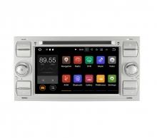 Навигация двоен дин Ford Fusion Galaxy Transit Connect с Android 9.0 FO0704A9, GPS, WiFi, DVD, 7 ин