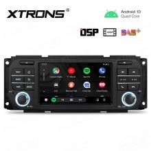 Навигация двоен дин за Chrysler PSD50WRJL с Android 10, GPS, WiFi, 5 инча