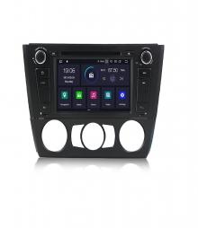 Навигация двоен дин за BMW E81 E82 E87 E88 B4432H GPS, ANDROID 10, WiFi,7 инча
