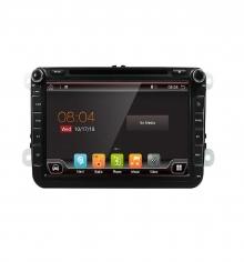 Специализирана двоен дин навигация Volkswagen W8240H GPS, ANDROID 10, WiFi, DVD, 8 инча