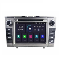 Специализирана мултимедия двоен дин за TOYOTA Avensis T4314H GPS, ANDROID 9, WiFi, DVD, 7 инча