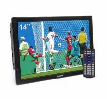 LEADSTAR портативен телевизор с цифров тунер DVB-T2 D14 14 инча HDMI